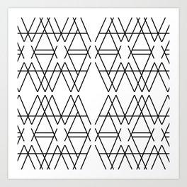 A Pattern Art Print