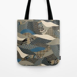 Patchwork Power Tote Bag