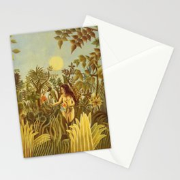 """Henri Rousseau """" Eve in the Garden of Eden"""", 1906-1910 Stationery Cards"""