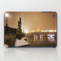 prague iPad Cases featuring Prague 7 by Veronika