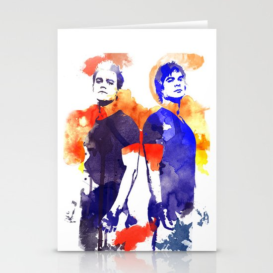 The Salvatore Brothers Stationery Cards