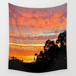 amazing sunset Wall Tapestry