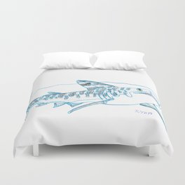 Tiger Shark II Duvet Cover