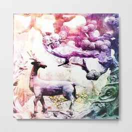 Fantasy - Land 1 - Metal Print