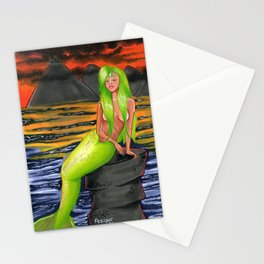 Peridot (August) Stationery Cards