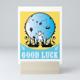 Good Luck Voyager Mini Art Print