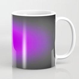 Fuchsia Purple & Gray Focus Coffee Mug