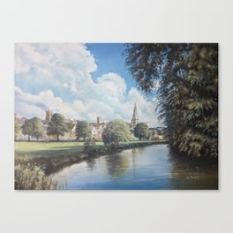 The Meadows, Stamford Canvas Print