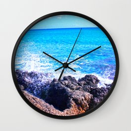 Mediterranean sea Wall Clock