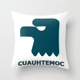 Cuauhtemoc Throw Pillow