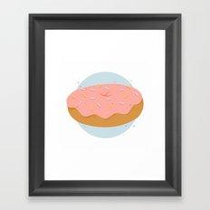 Donut! Framed Art Print