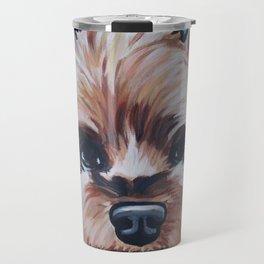 Herman the Yorkshire Terrier Travel Mug