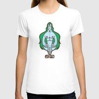 shiva T-shirts featuring Shiva II by Tshirtbaba