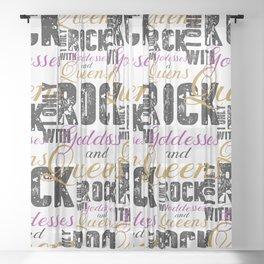 Rock Sheer Curtain