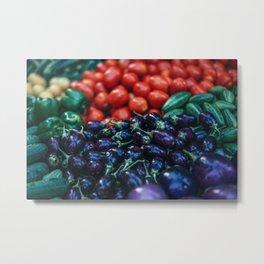 vegetables #society6 #decor #buyart Metal Print