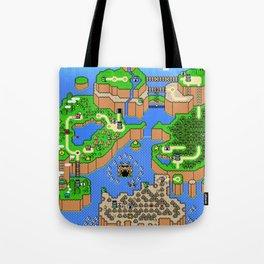 The World of Super Mario Tote Bag
