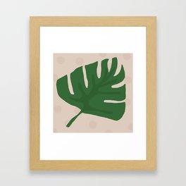 Monstera Deliciosa Framed Art Print