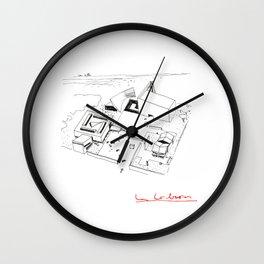 Le Corbusier The Architect Wall Clock