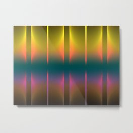 COLORFUL VIBES 1 Metal Print