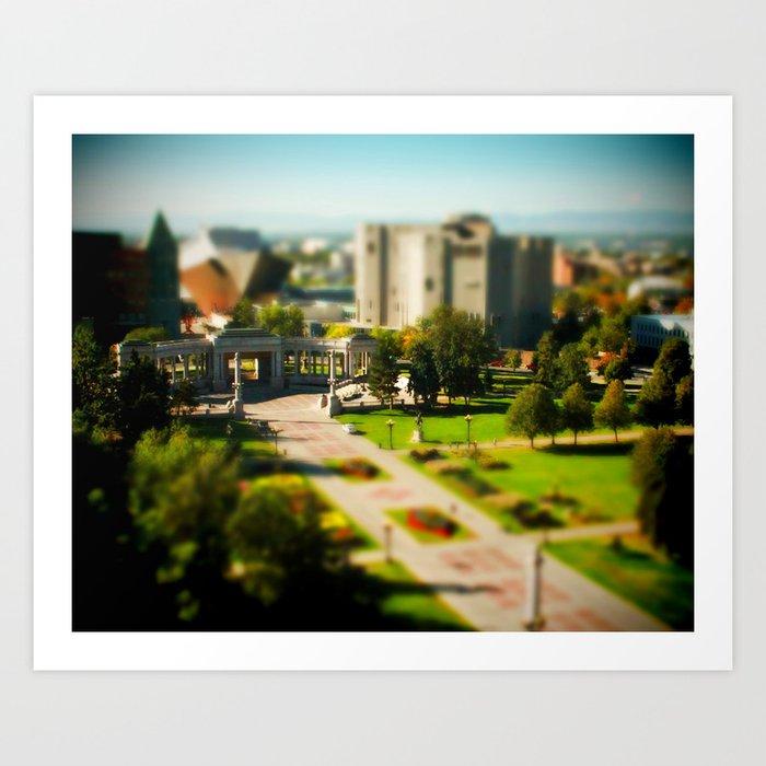 Civic Center Park Art Print