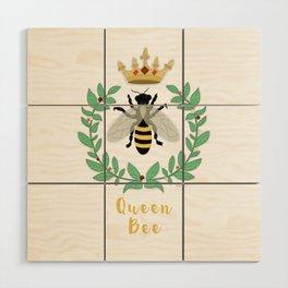 Queen Bee Wood Wall Art