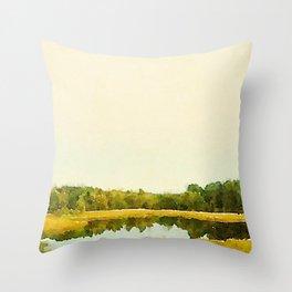 Fall In Portland, ME Throw Pillow