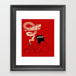 Good Tea Framed Art Print