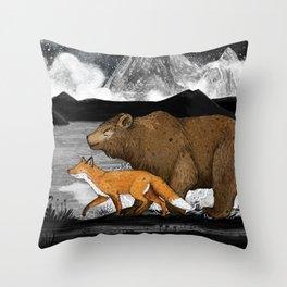 Nightwalkers Throw Pillow
