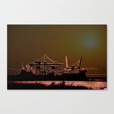 SUNSETSHORE Canvas Print