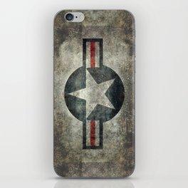 Vintage USAF Roundel iPhone Skin