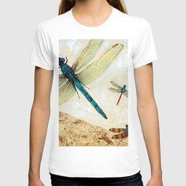Zen Flight - Dragonfly Art By Sharon Cummings T-shirt