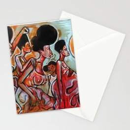 2017 My Sisters Freedom Story art by Marcellous Lovelace Stationery Cards