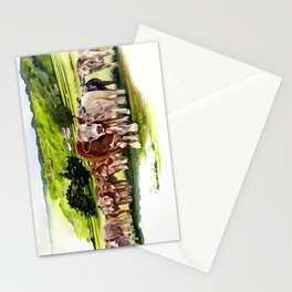 Herd It Throught the Grapevine Stationery Cards