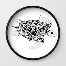 Ms. Turtle Wall Clock