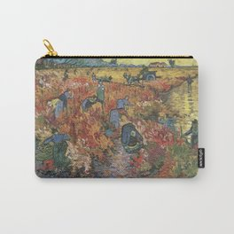 Vincent Van Gogh - The Red Vineyards in Arles Carry-All Pouch