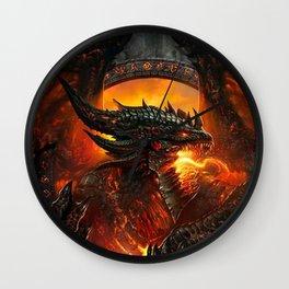 Hell Dragon Wall Clock