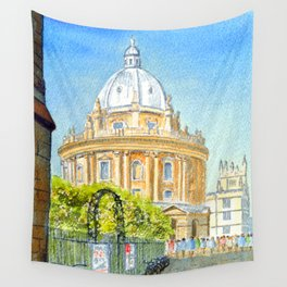 Radcliffe Camera Oxford University England Wall Tapestry