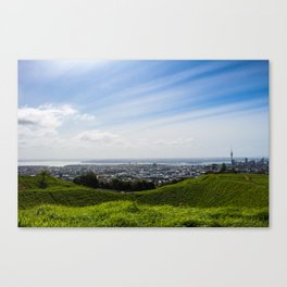 Auckland from Eden Canvas Print