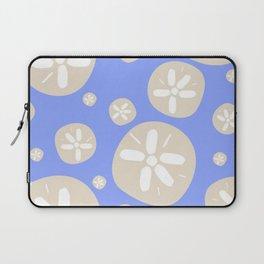 Sand Dollar Blue and Tan Laptop Sleeve