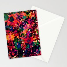 Neon Floral Stationery Cards