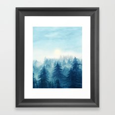 Into The Forest VIII Framed Art Print