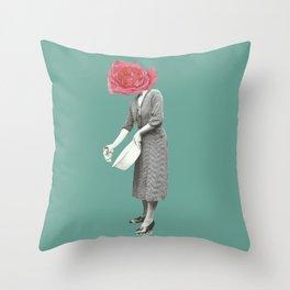 Minha Daisy Throw Pillow