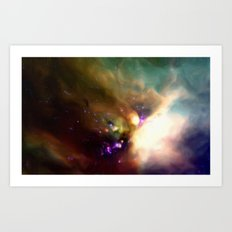 Young Stars in Formation Art Print