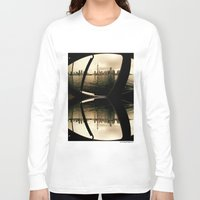 cityscape Long Sleeve T-shirts featuring Cityscape by sysneye