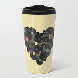 Heart of a Vinyl Lover Travel Mug