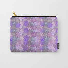 Geometric in pink Carry-All Pouch