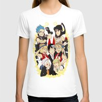soul eater T-shirts featuring Soul Eater Meisters and Weapons 02 by renaevsart