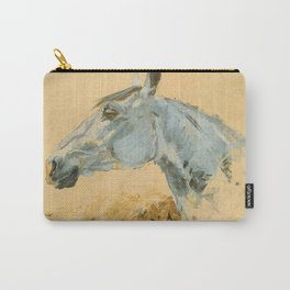 "Henri de Toulouse-Lautrec ""White Horse 'Gazelle'"" Carry-All Pouch"