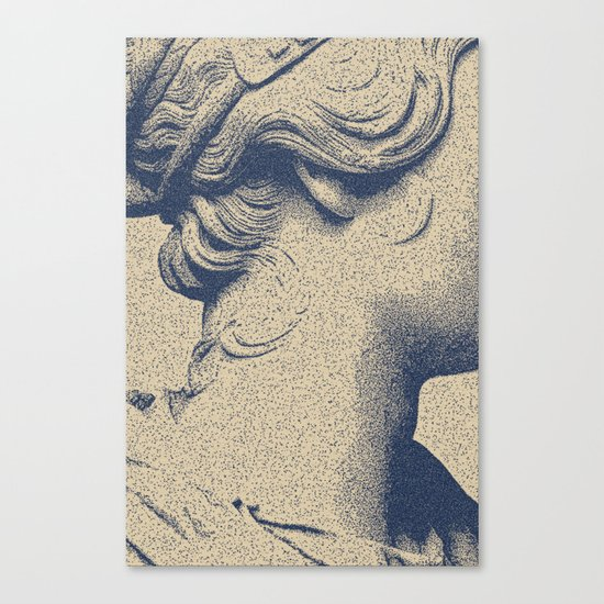 ink on paper Canvas Print