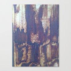 telephone pole grain Canvas Print